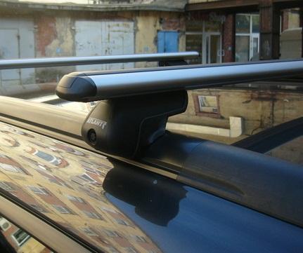 Багажник на рейлинги mitsubishi asx