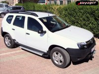 Подножки OLYMPOS на Renault Duster