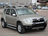 ПорогиHITIT SILVER на Renault Duster