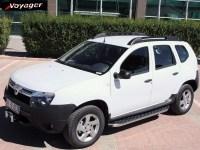 Пороги HITIT на Renault Duster