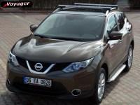 Пороги OLYMPOS для Nissan Qashqai