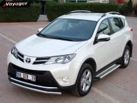 Пороги OLYMPOS на Toyota Rav 4 с 2013