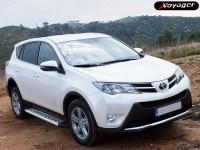 Подножки ASPENDOS на Toyota Rav 4 с 2013