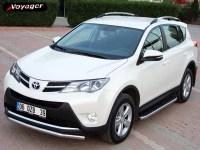 Подножки на Toyota Rav 4 с 2013 HITIT X
