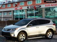 Подножки на Toyota Rav 4 с 2013 HITIT X SILVER